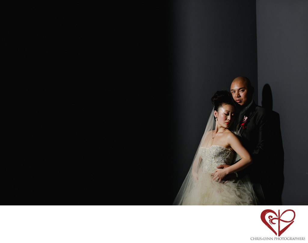 Beautiful X'ian Wedding Photos, bride & groom picture