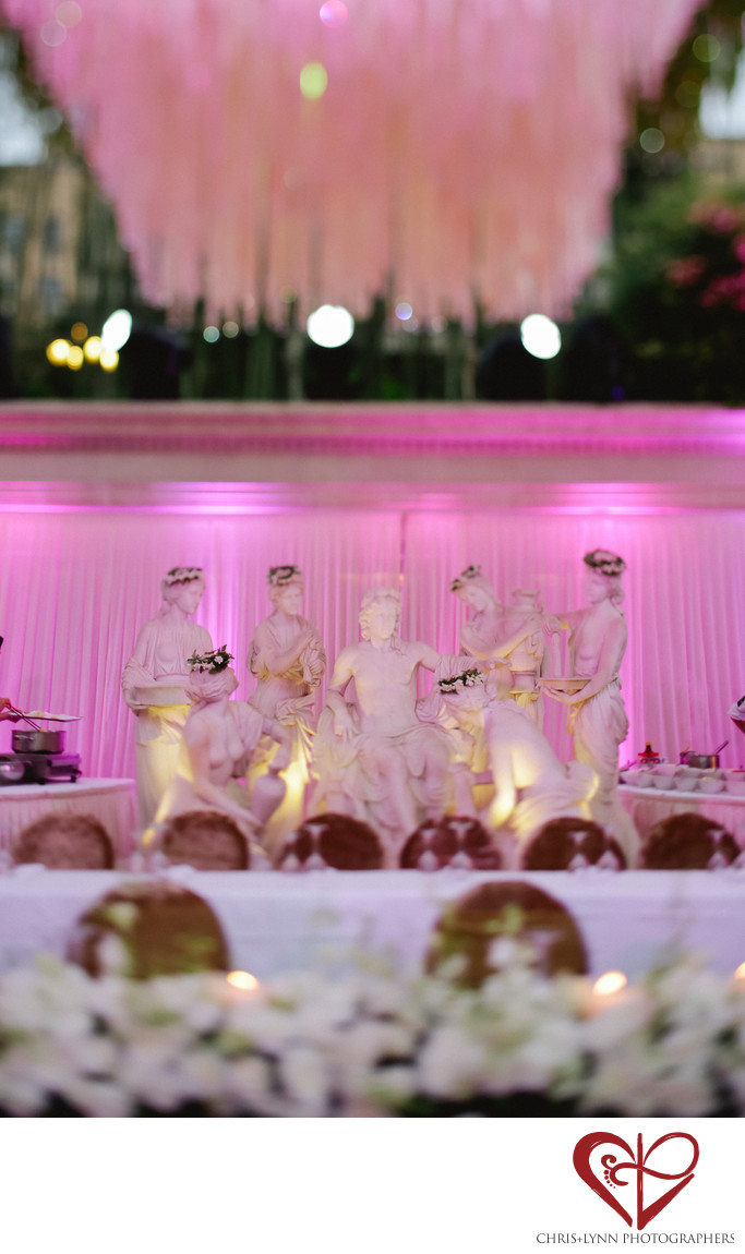 China Wedding, X'ian Reception Decor Photos