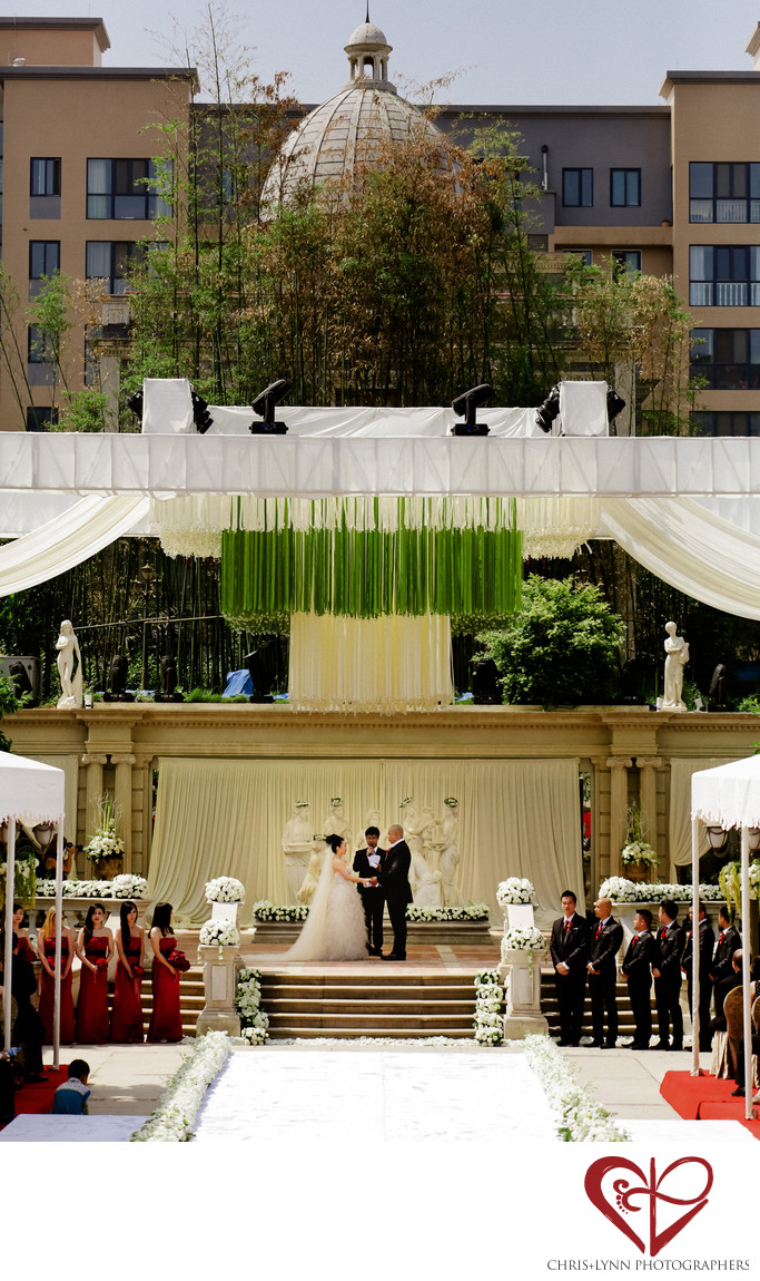 China Destination Wedding, Ceremony Pictures