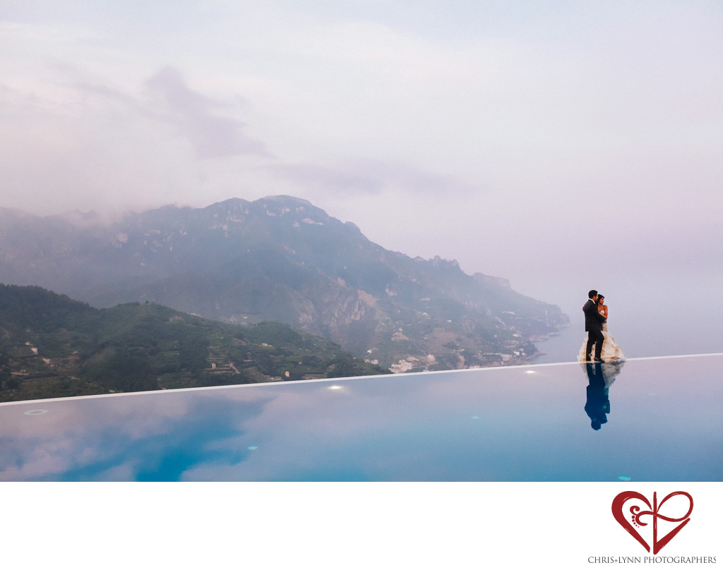 Hotel Caruso Wedding Pictures, Ravello Italy
