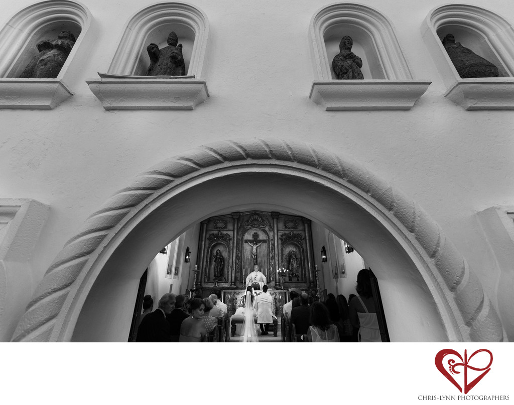 Ceremony at One & Only Palmilla Wedding Chapel