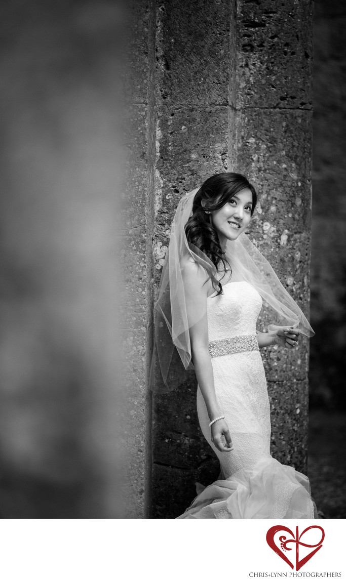 Italy Destination Wedding, Bridal Portrait