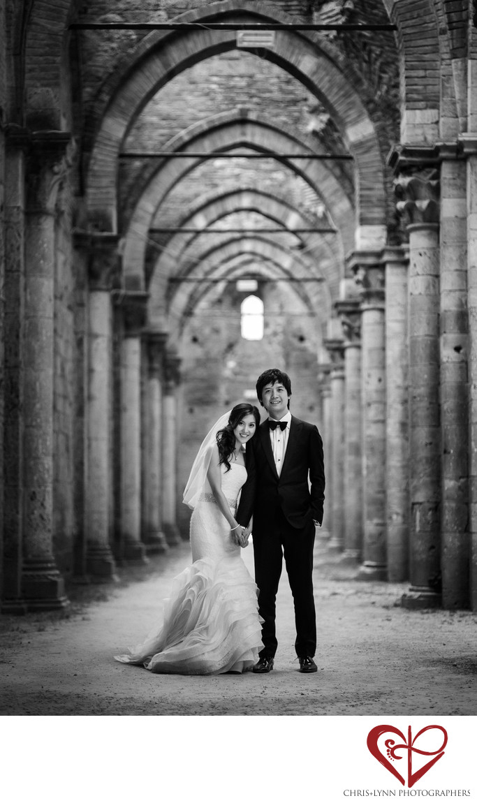 Italy Destination Wedding, Groom & Bride