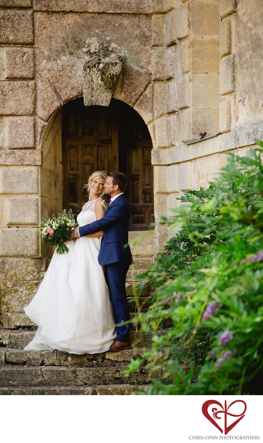 Chateau Saint Loup Wedding Bride and Groom Pictures 5