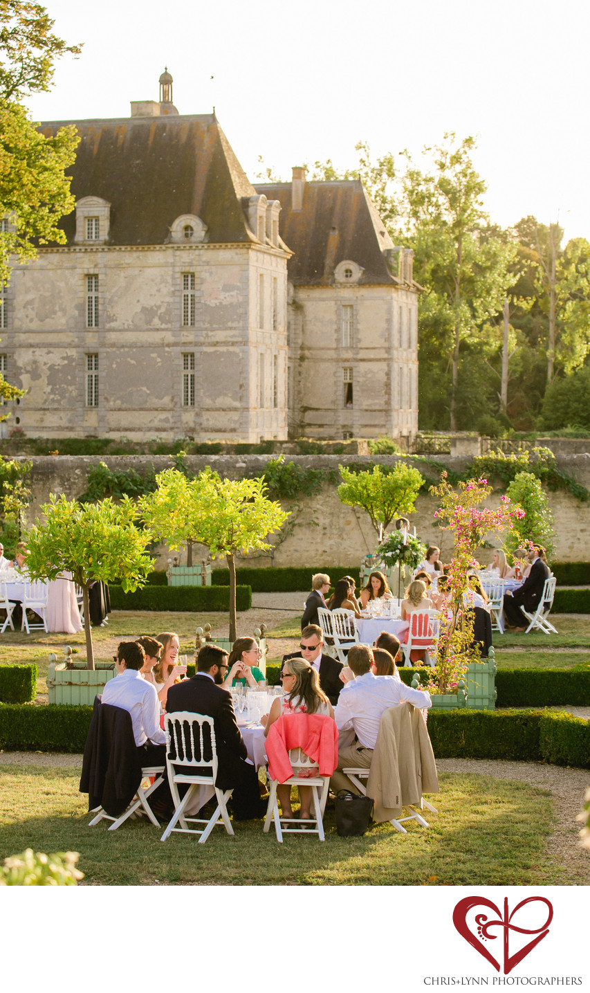 Château de Saint-Loup-sur-Thouet Wedding Reception 2