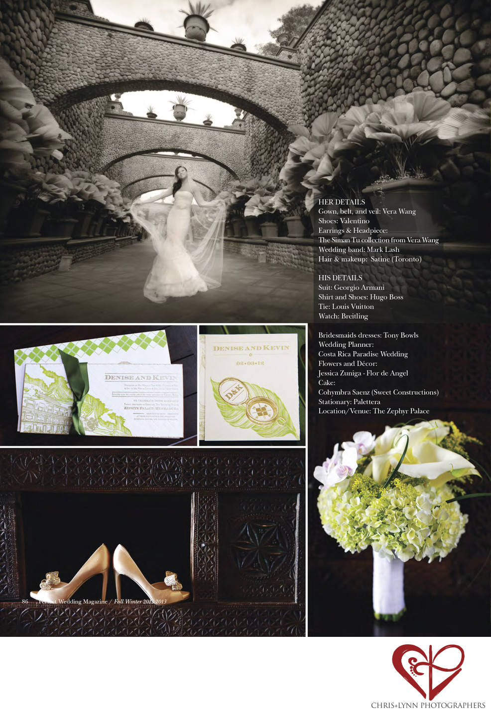 PW MAGAZINE COSTA RICA WEDDING 1