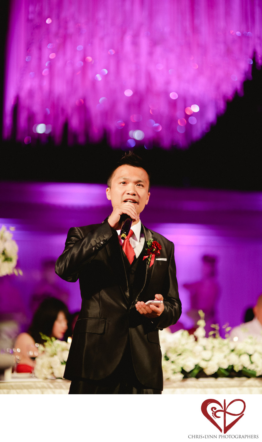 China Destination Wedding, Groomsmen Speech Photo