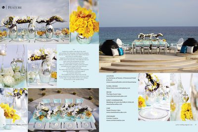 PW MAGAZINE - LAS VENTANAS FLORAL & DECOR EDITORIAL 1