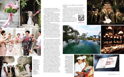 REAL WEDDINGS - BALI DESTINATION WEDDING