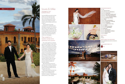 BLUSH MAGAZINE - VILLA SANTA CRUZ WEDDING