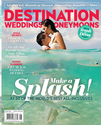 DESTINATION WEDDINGS & HONEYMOONS COVER
