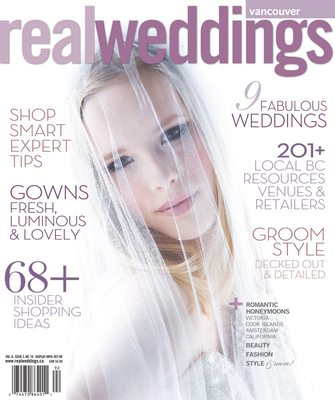 REAL WEDDINGS - BROCK HOUSE WEDDING COVER