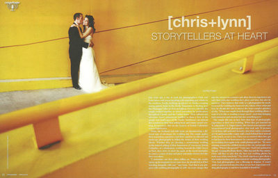 CHRIS+LYNN RANGEFINDER MAGAZINE PROFILE