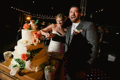Club Campestre Wedding, Reception Photos, Cake Cutting