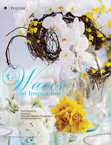 PW MAGAZINE - LAS VENTANAS FLORAL & DECOR EDITORIAL