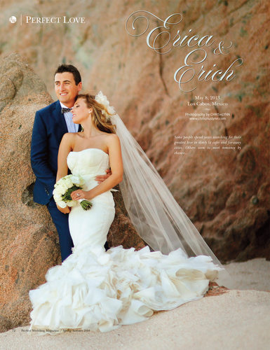 PW MAGAZINE - ESPERANZA WEDDING FEATURE