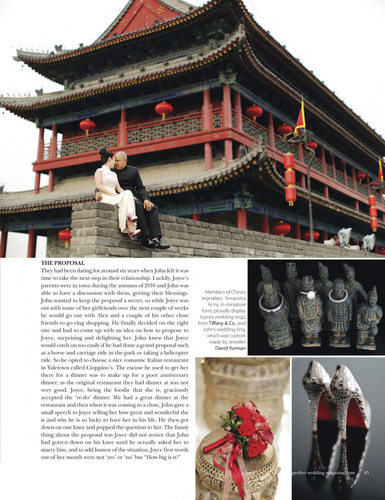 PERFECT WEDDING MAGAZINE - X'IAN CHINA WEDDING 1