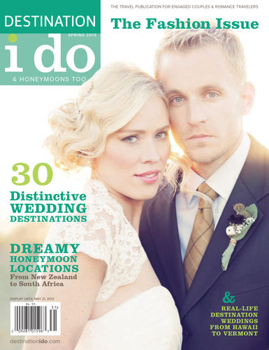 I DO MAGAZINE COVER - ST REGIS PUNTA MITA WEDDING