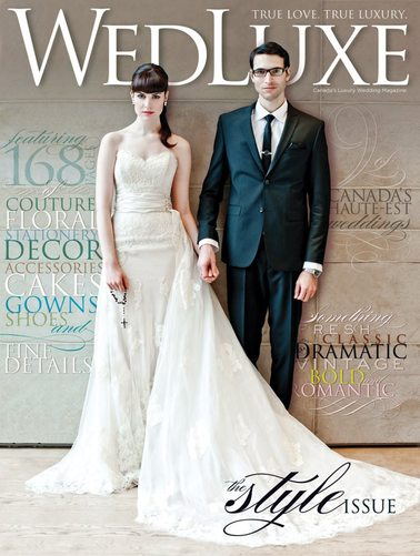 WEDLUXE - OKANAGAN WEDDING COVER