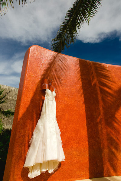 Teitiare Estates Sayulita Mexico Wedding Dress