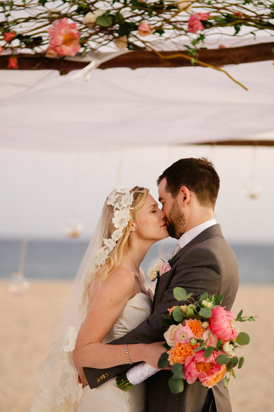Beach Wedding Photos at Club Campestre