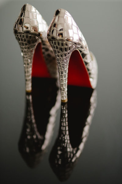 China Destination Wedding, Xian Wedding, Louboutins