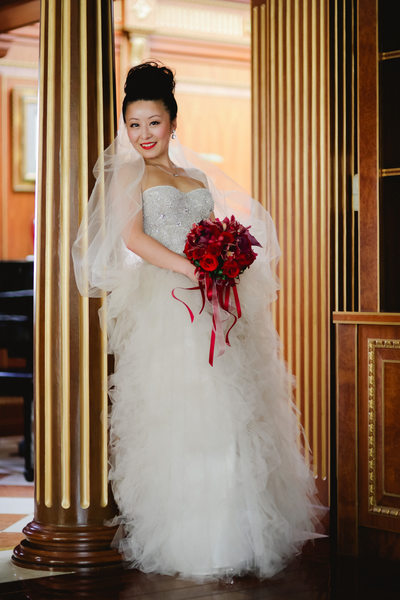 China Destination Wedding, Bridal Photo