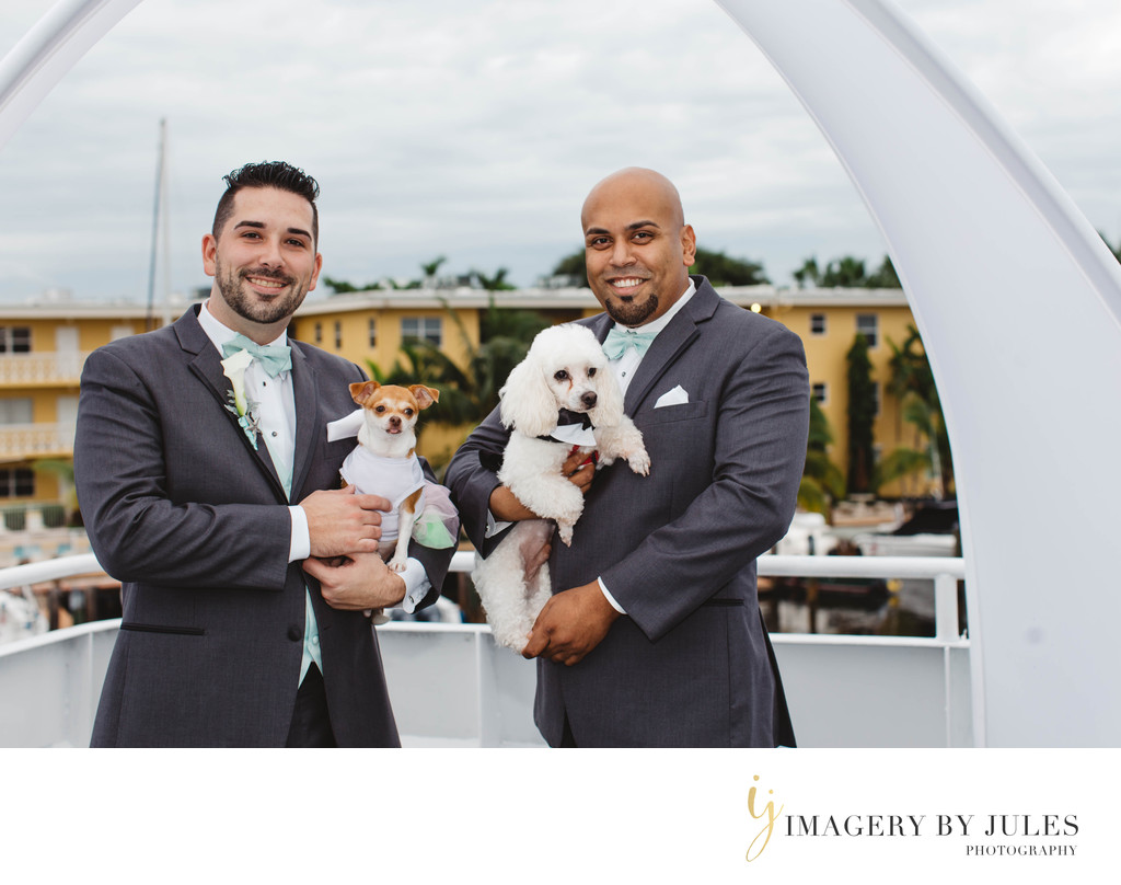 Fort Lauderdale Same Sex Yacht Wedding