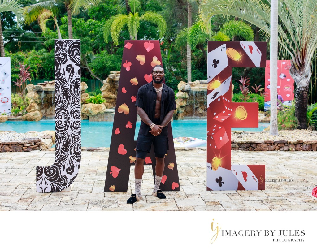 Jae Crowder Miami Heat Birthday Party