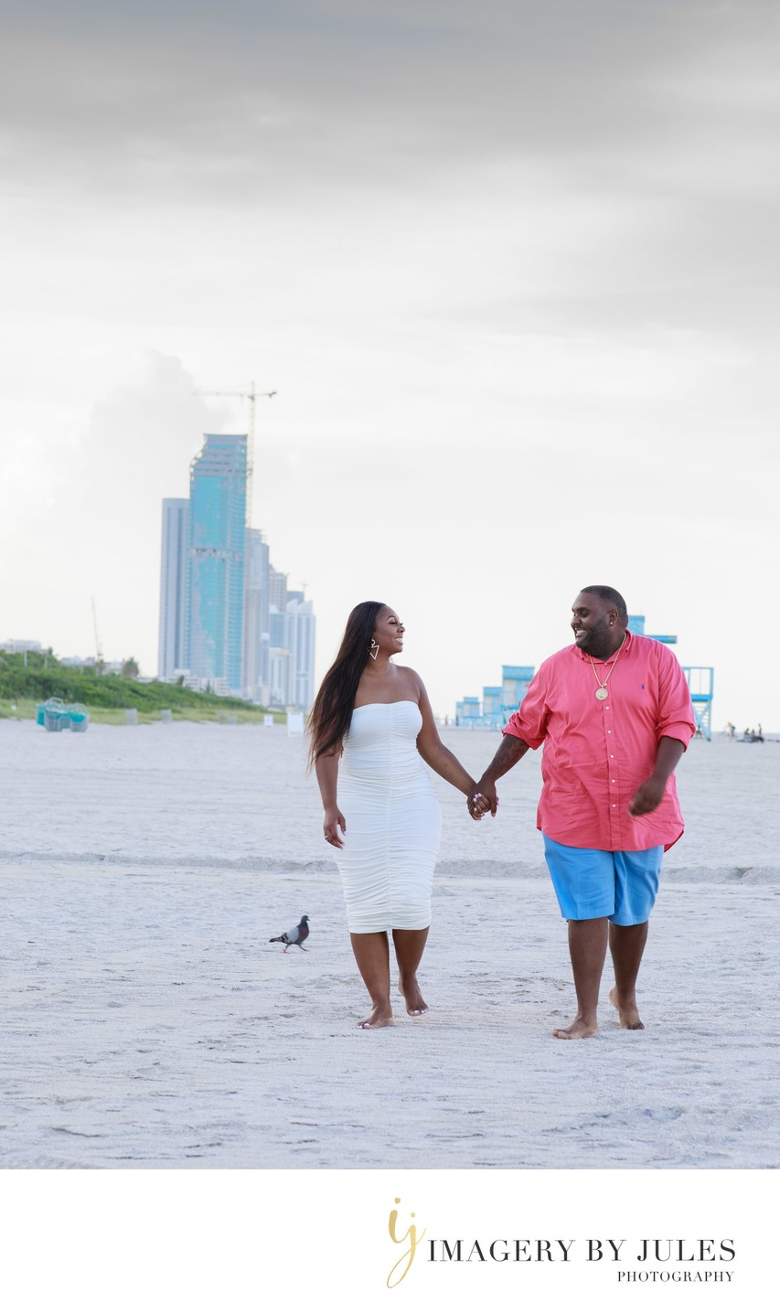 Haulover Beach Park Engagement Shoot