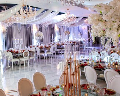 Crystal Ballroom Beach Place Wedding