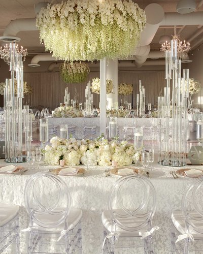 Tica Rose Penthouse at Rivershide Wharf Wedding Decor
