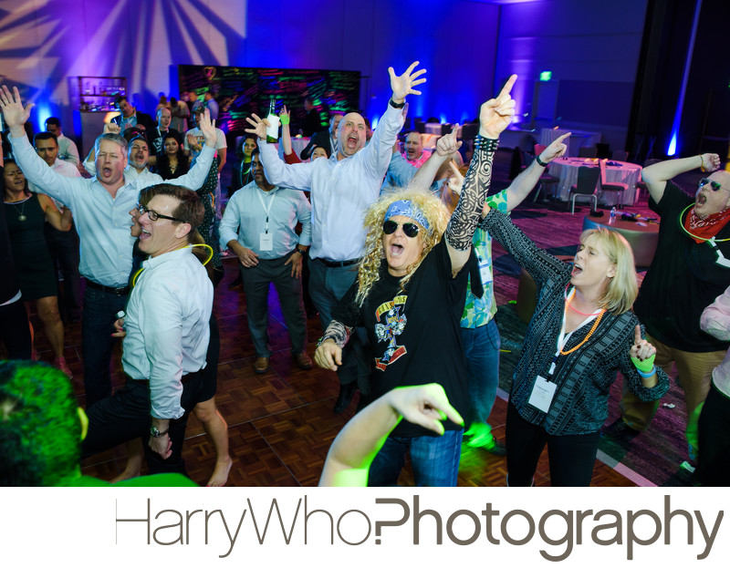 Fun Corporate Party Photographer Burlingame