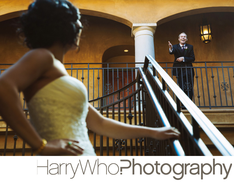 Fun Wedding Photo Los Gatos