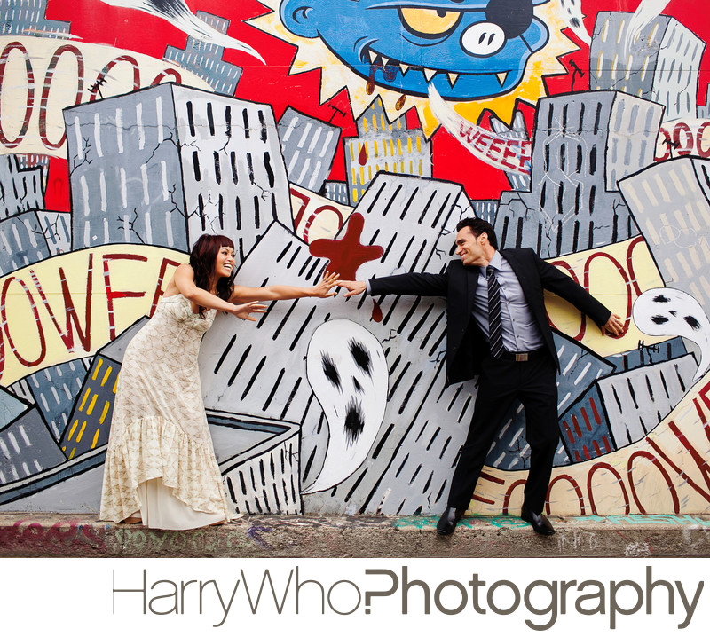 San Francisco Fun Engagement Session