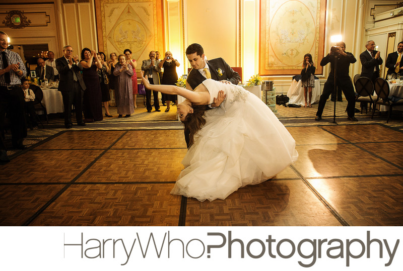 Wedding Dance at Kimpton Sir Francis Drake Hotel
