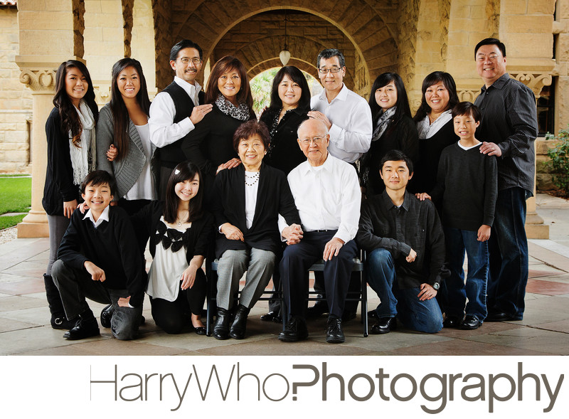 Big Family Photo Palo Alto