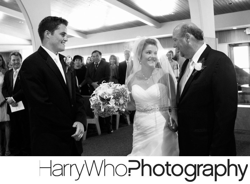 A proud Father at Cinnarbar HIlls Golf Course Wedding
