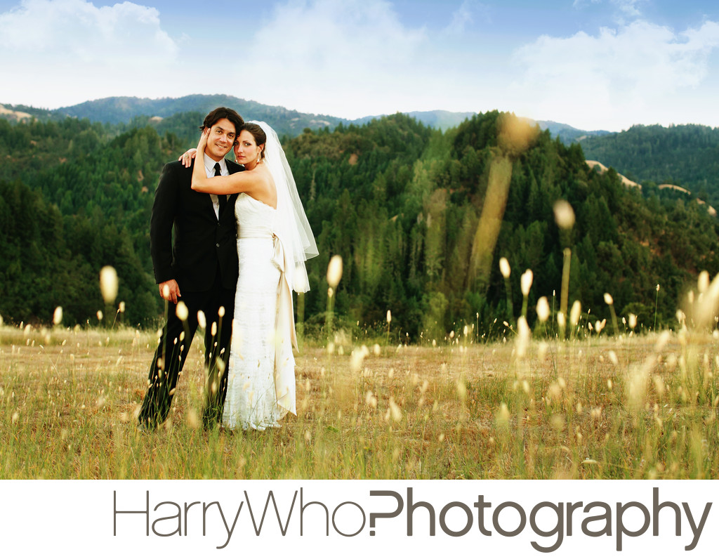 Anvil Vineyard and Ranch Outdoor Wedding Photo