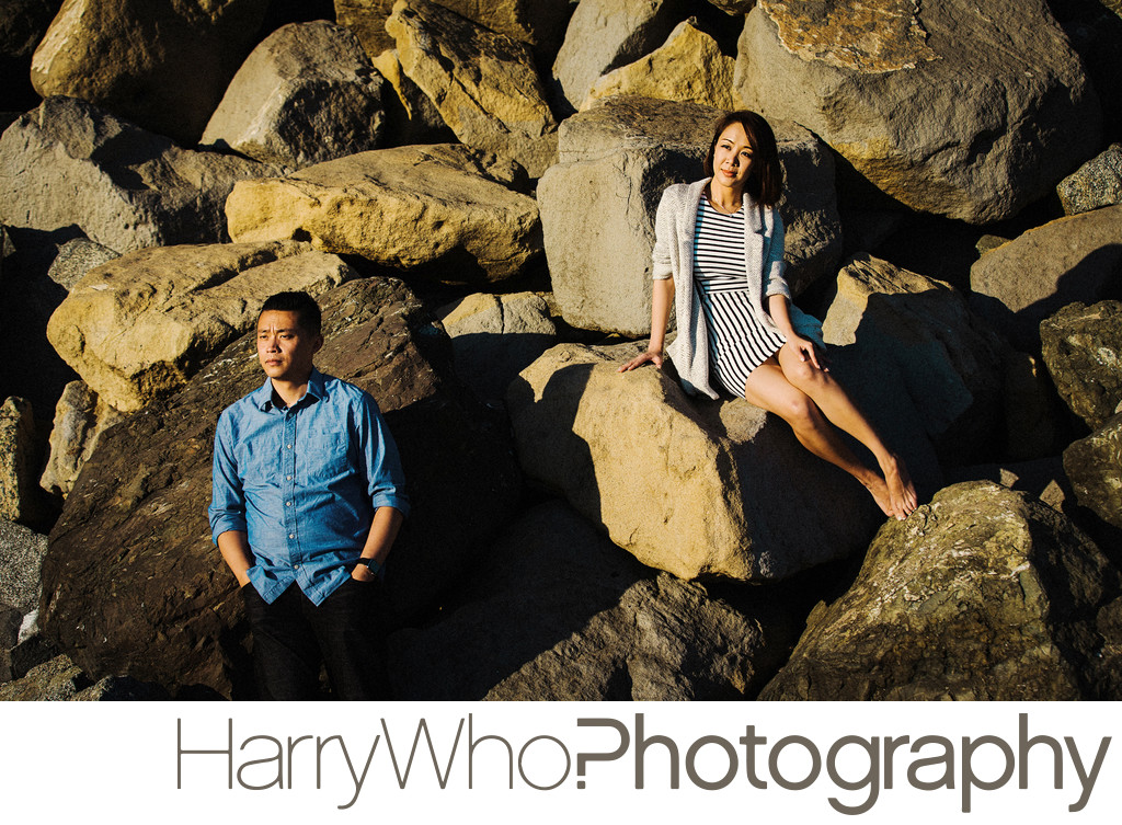 Santa Cruz Beach Engagement Session