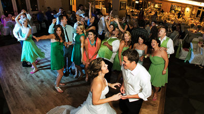 Wedding Bridal Party Dancing