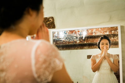 Wedding at Santa Clara University Mission Church
