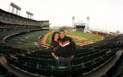 SF Giants Engagement Photo Session