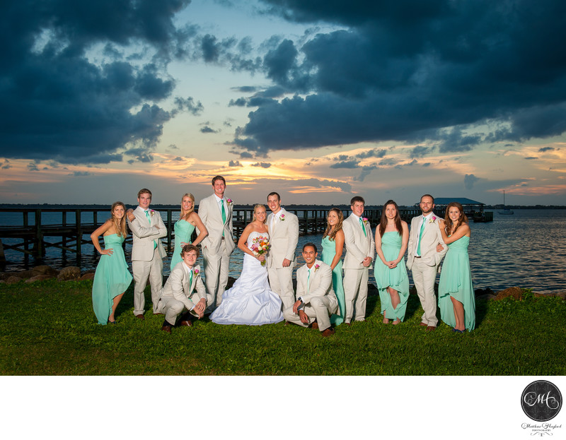 Bridal Party Photography Melbourne Beach Florida
