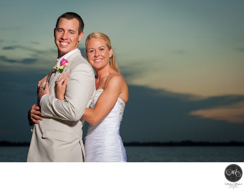 Bride & Groom Melbourne Beach Florida