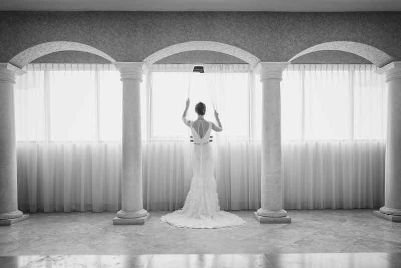 Radisson Melbourne Beach Bridal Portraits