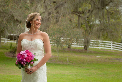 Rustic Wedding Bridal Portraits Melbourne Florida
