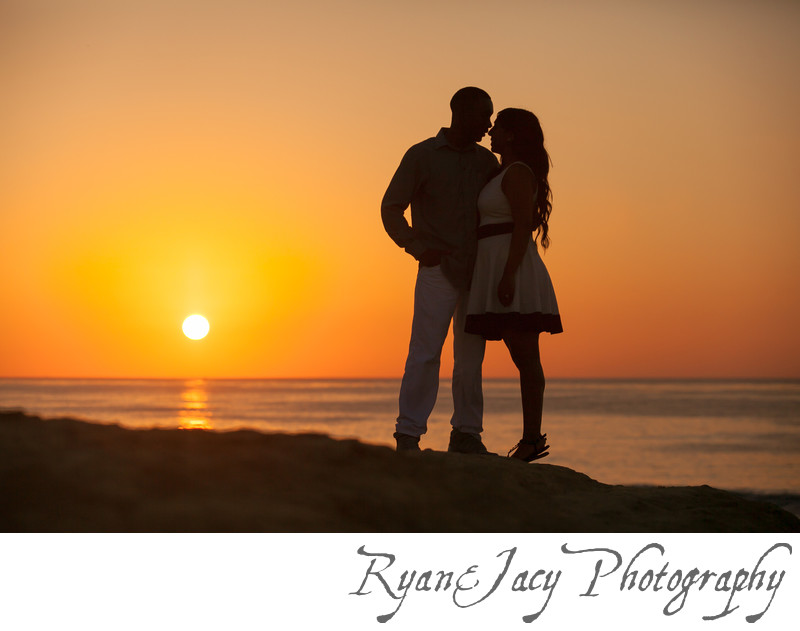 Engagement Photograph La Jolla