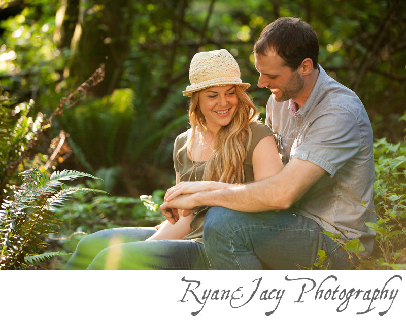 Best Engagement Photos Point Defiance Park Tacoma