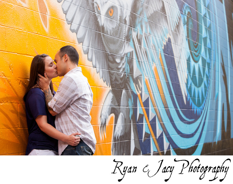 Engagement Pictures Portland Pearl District